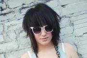 medium length emo hair