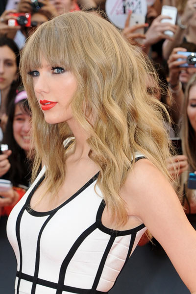 Cute Curly Hairstyles Celebrity Edition