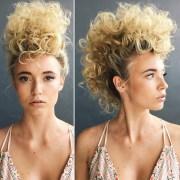 hair trend alert mohawk updo