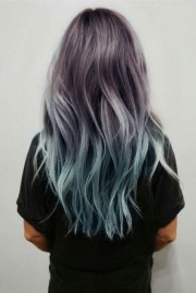 blue ombre hair ideas hairstyles