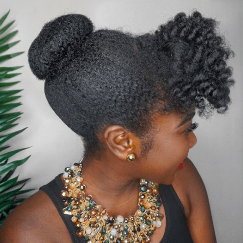 50 African American Natural Hairstyles For Medium Length Hair