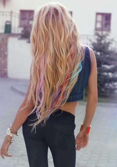 Long Waves Hair
