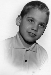 young boy's 1960's crewcut