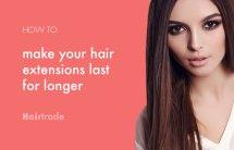 Make Clip In Hair Extensions Longer