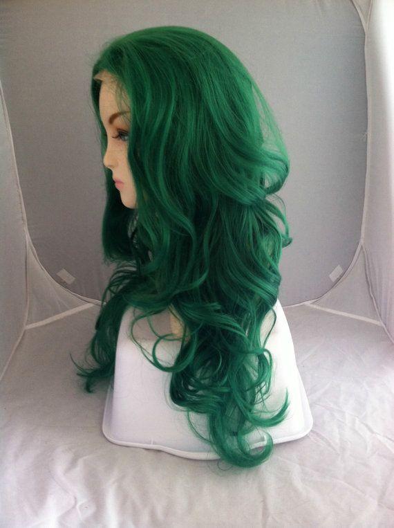 Dark Green Wigs  HairTurners