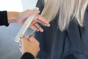 Wig cutting and styling at HairWeavon