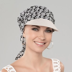 Lonata Headwear In Black / White