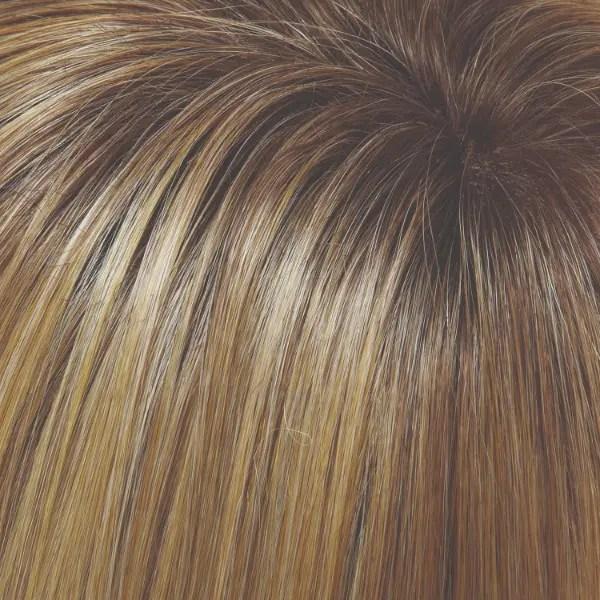 24B/27CS10 24B/27CS10 | Light Gold Blonde & Med Red-Gold Blonde Blend, Shaded with light Brown