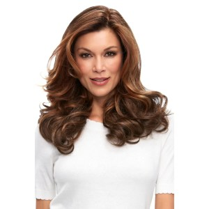 EasiPart French 18″ Topper | Remy Human Hair (Mono Base) | 30 Colours