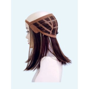 Halo Hair Piece By Rene Of Paris | 3/4 Wig | Synthetic Hair