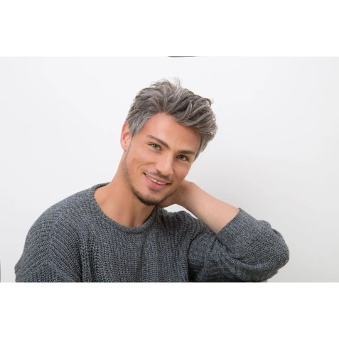 PATRICK Wig for Men by NJ Creation Paris | Remy Human Hair Wig