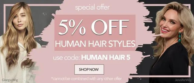 Discount coupons for wigs