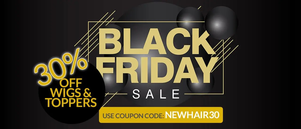 Black Friday Sale Wigs