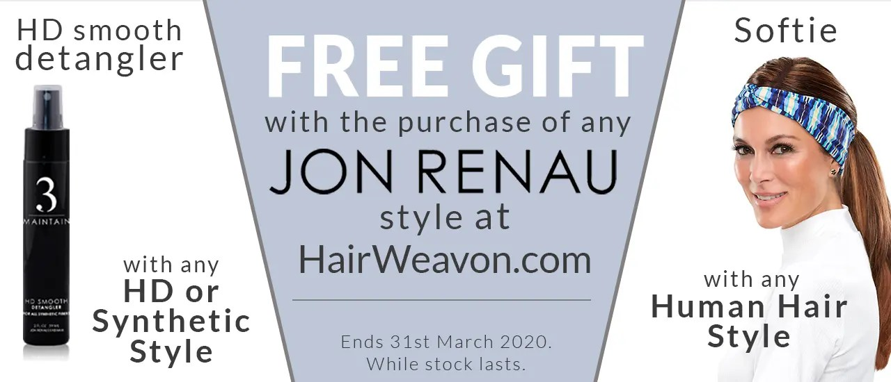 Jon Renau Free Gift Offer HairWeavon