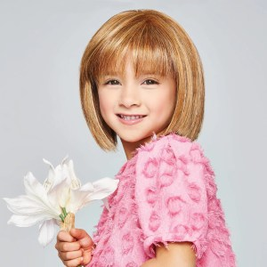 Pretty In Page Wig For Girls | Heat Friendly Synthetic | 8 Colours