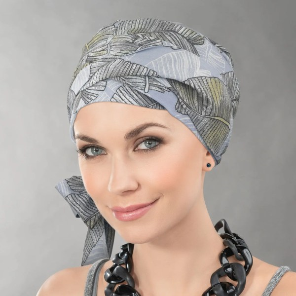 Ama Fina Headwear by Ellen Wille. Hats and Scarves suitable for hairloss