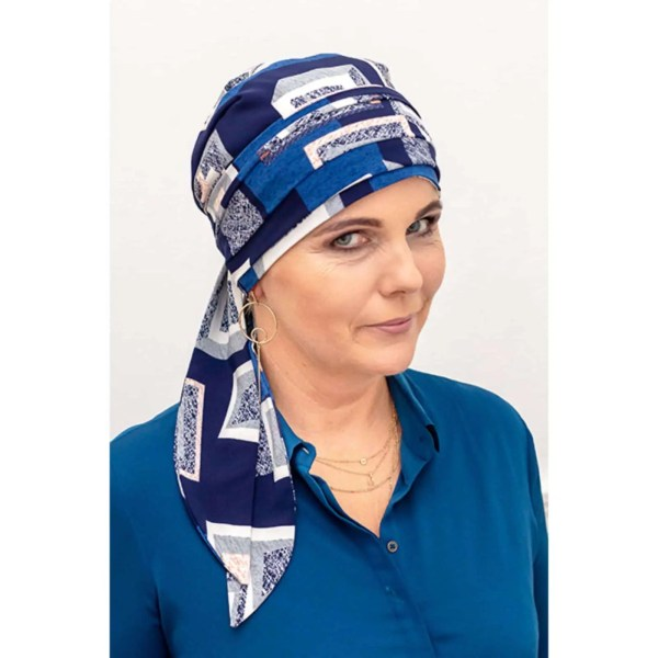 Monika Silk Scarf 1/109 | Headwear for women with hair loss