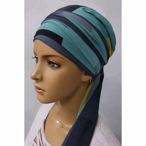 Monika Silk Scarf 9/13 | Headwear for women with hair loss