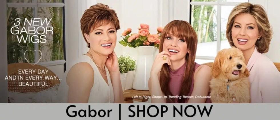 Gabor Wigs | Buy at HairWeavon
