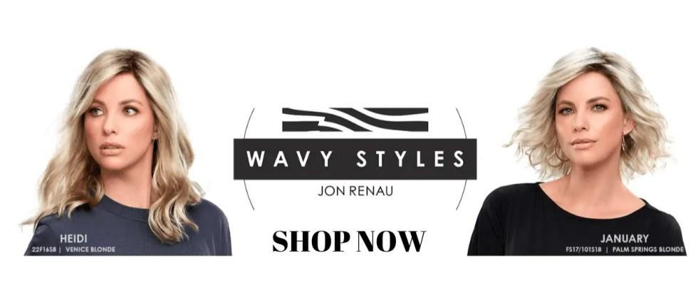 Jon Renau Wavy Wigs