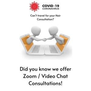Zoom Video Consultations Wig Shop | HairWeavon