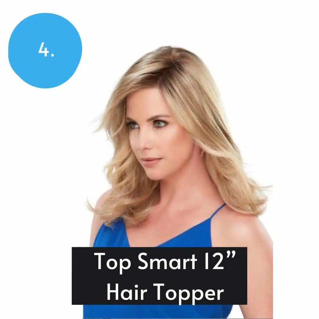 Top Smart 12inch Synthetic Topper By Jon Renau