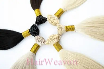 I-Tip Micro Beads Hair Extensions