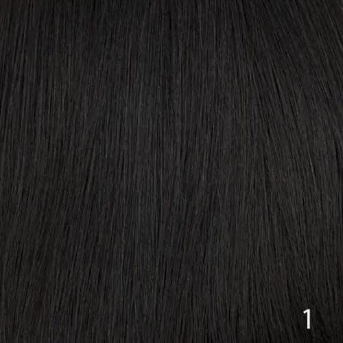 mens hair system colour 1 black