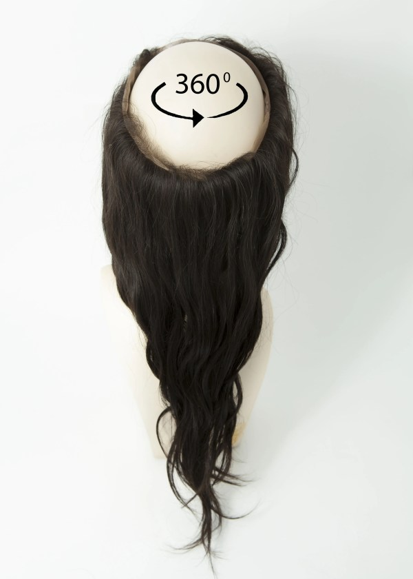 360 Frontal Hair Piece Wavy