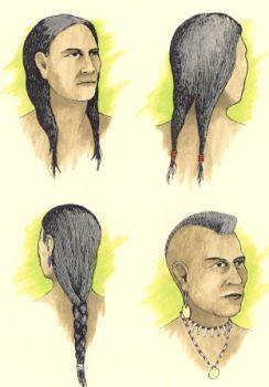 HairWeb De • Frisuren Der Indiane Bärenfett Und Biberschwanz Zöpfe