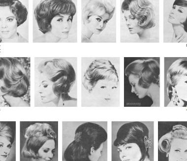 HairWeb De • Moden Der 60er Jahre Die Trends Der Sechziger Frisuren