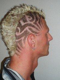 HairWeb De • HAIR ART Tribals Muster Rasur Und Schablonen