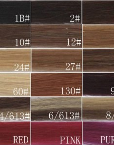 also real human hair extension color chart weave rh hairwigextensions