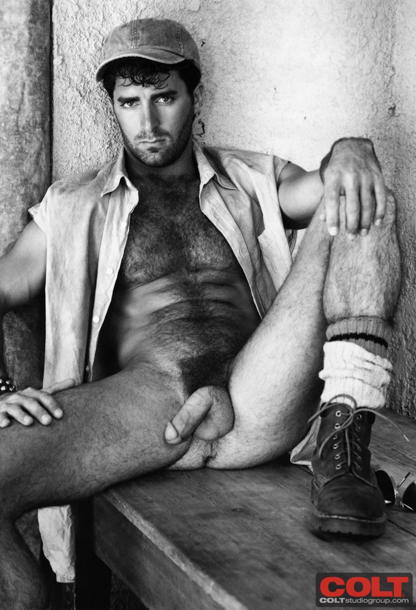 big hairy chested men