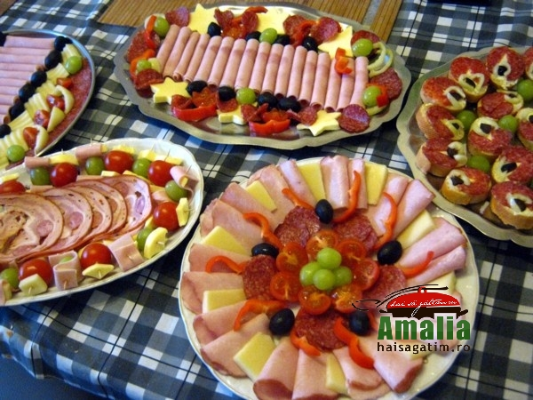Alte exemple de platouri cu aperitive reci