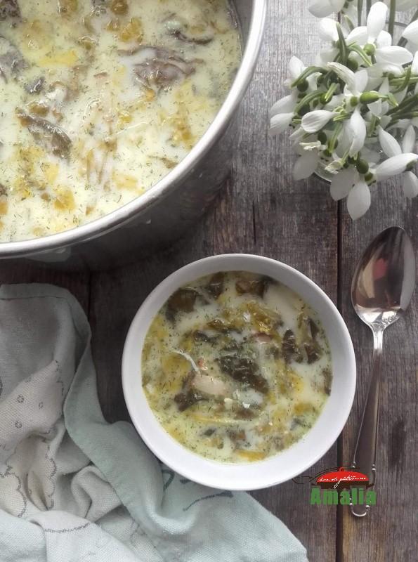 Supa de salata, reteta simpla si rapida