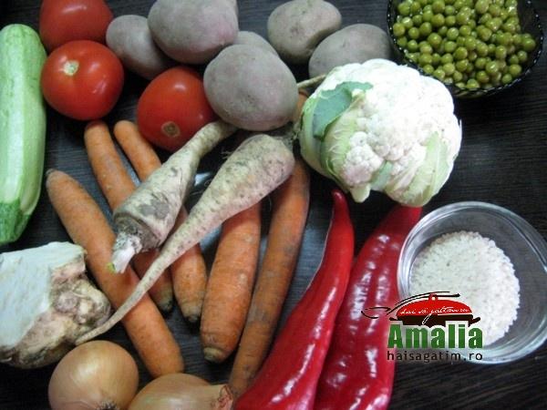 Ghiveci de legume, reteta simpla