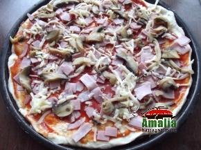 Pizza capriciosa 4