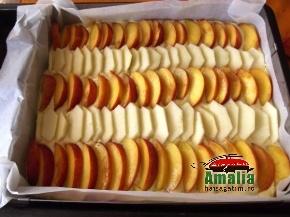 Prajitura cu nuca si fructe 5