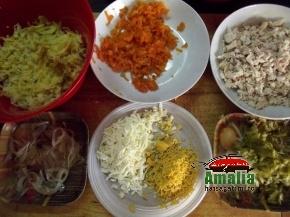 Salata in straturi 1