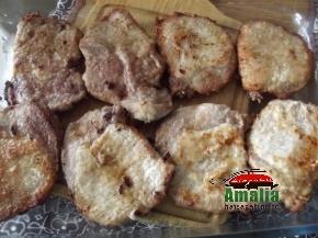 Cotlet de porc cu ciuperci 4