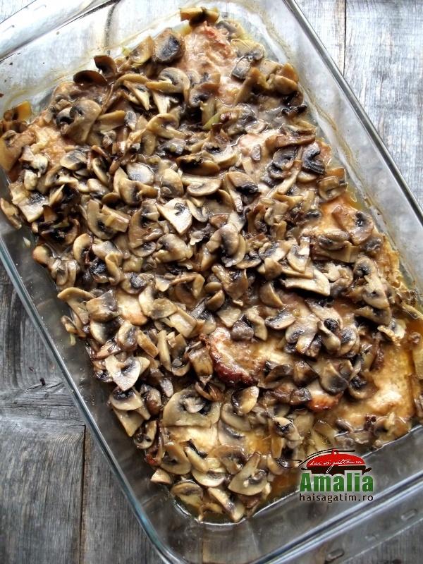Cotlet de porc cu ciuperci 7