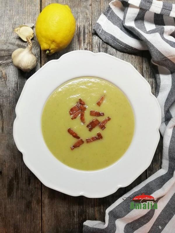 Supă cremă de fenicul