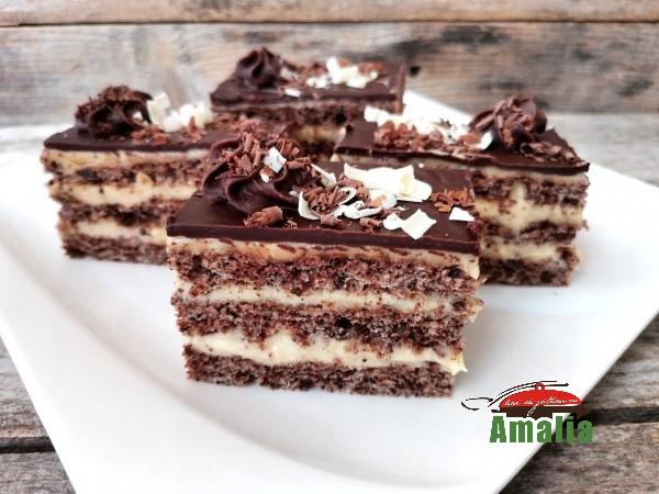 Prăjitură Felie de ciocolată