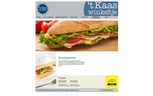 't Kaaswinkeltje website slide