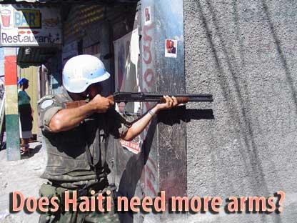 Militarism in Haiti