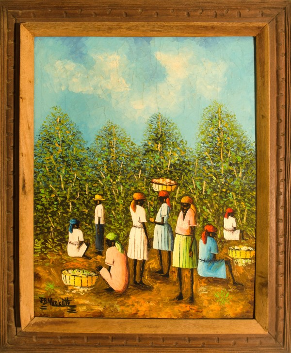 Setting Market Haitian Paintings Product Cat