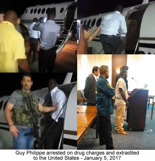 Image result for guy philippe arrested
