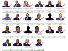 Haïti - i-Votes : Résultats huitième semaine