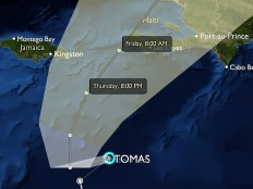 Haïti - Tomas : Double risque pour Haïti